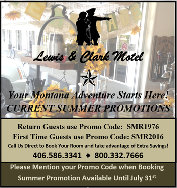 Lewis & Clark Motel Summer Promotions