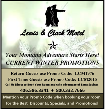 Lewis & Clark Motel Winter Promotions